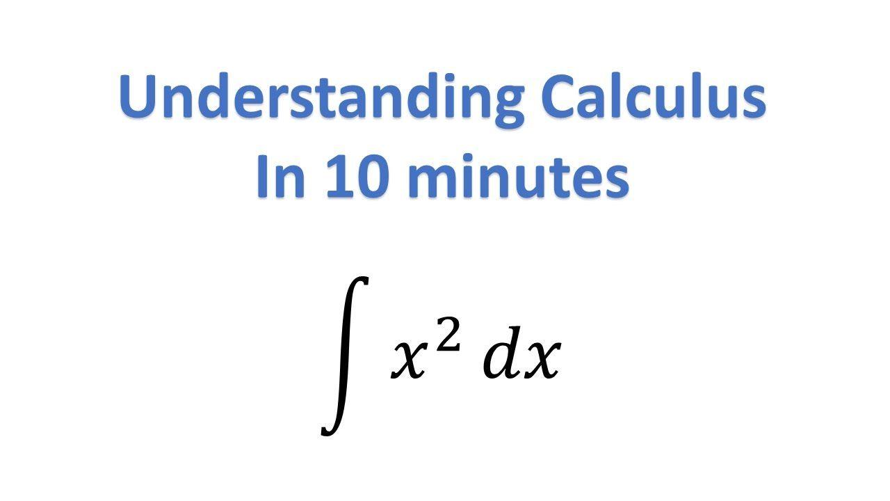 Understand Calculus In 10 Minutes Calculus Math Concepts Math Tricks [ 720 x 1280 Pixel ]