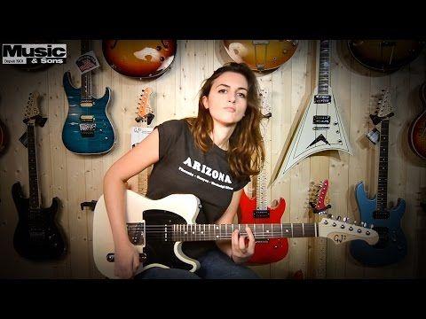 Laura Cox - 10 Classic Rock Intros on a GJ2 Hellhound - YouTube