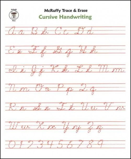 Cursive Handwriting Worksheets Adults in 2020   Cursive ...