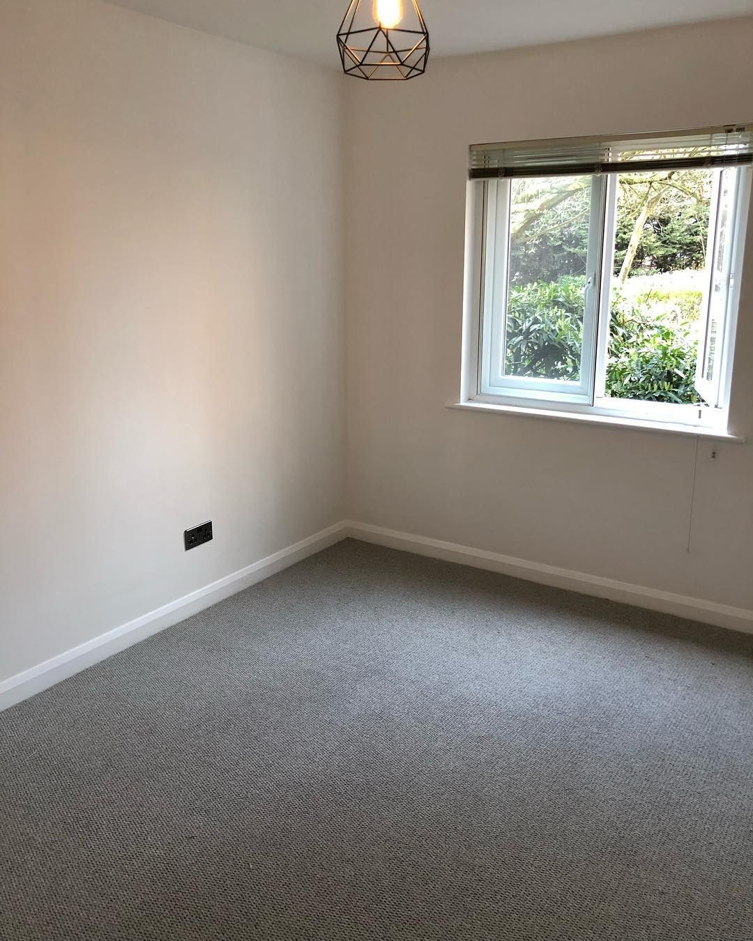Watch The Best Youtube Videos Online Here We Have This Grey Wool Loop Carpet Fitted In This Room Bedroom Finished Off Wi Carpet Fitting Interior Design Room