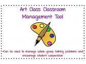 Art Classroom Management Tool product from The-Creative-Classroom on TeachersNotebook.com