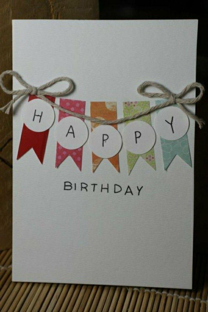 carte d anniversaire fait main Comment faire une carte de voeux vous mêmes à la maison? | Diy