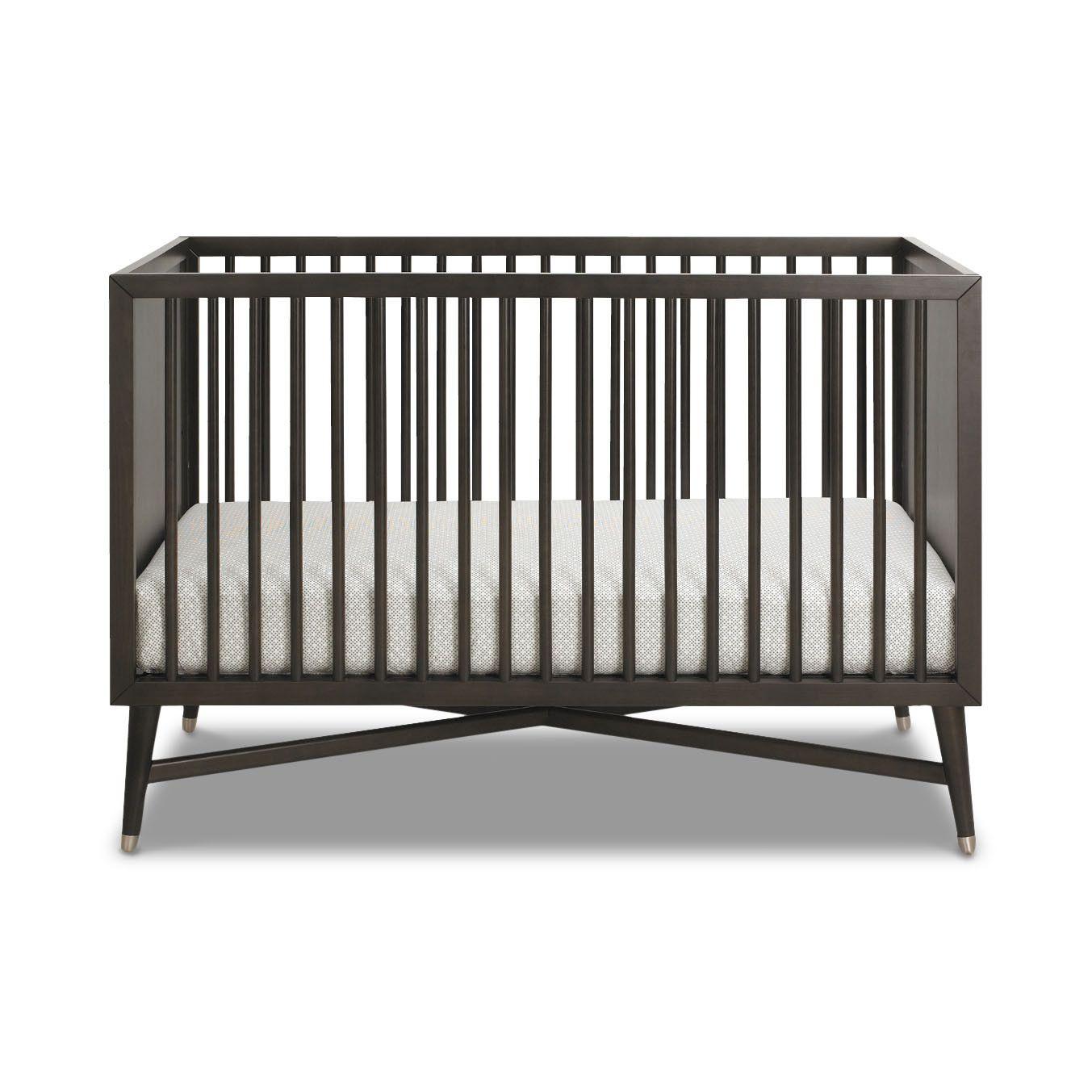 My Dream Crib Dwellstudio Mid Century Espresso Crib Dwellstudio Mid Century Modern Nursery Cribs Dwell Studio