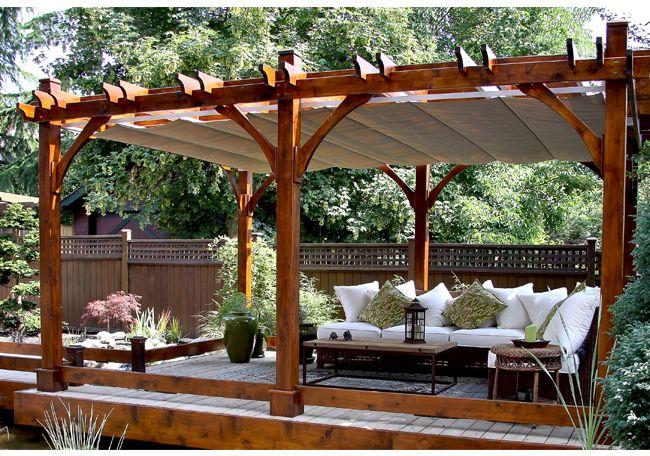 Wonderful 12u0027x16u0027 Breeze Pergola With Retractable Canopy | Backyard Designs |  Pinterest | Retractable Canopy, Pergolas And Canopy