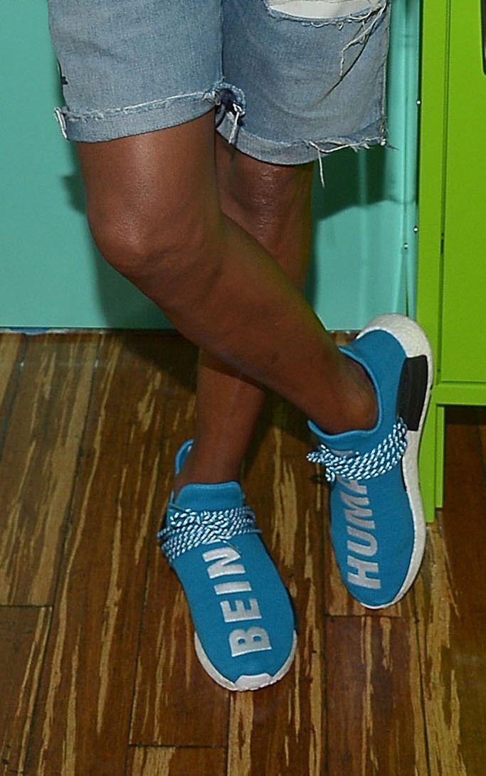 Adidas Originals Pharrell Williams Human Race NMD Yellow TRÈS