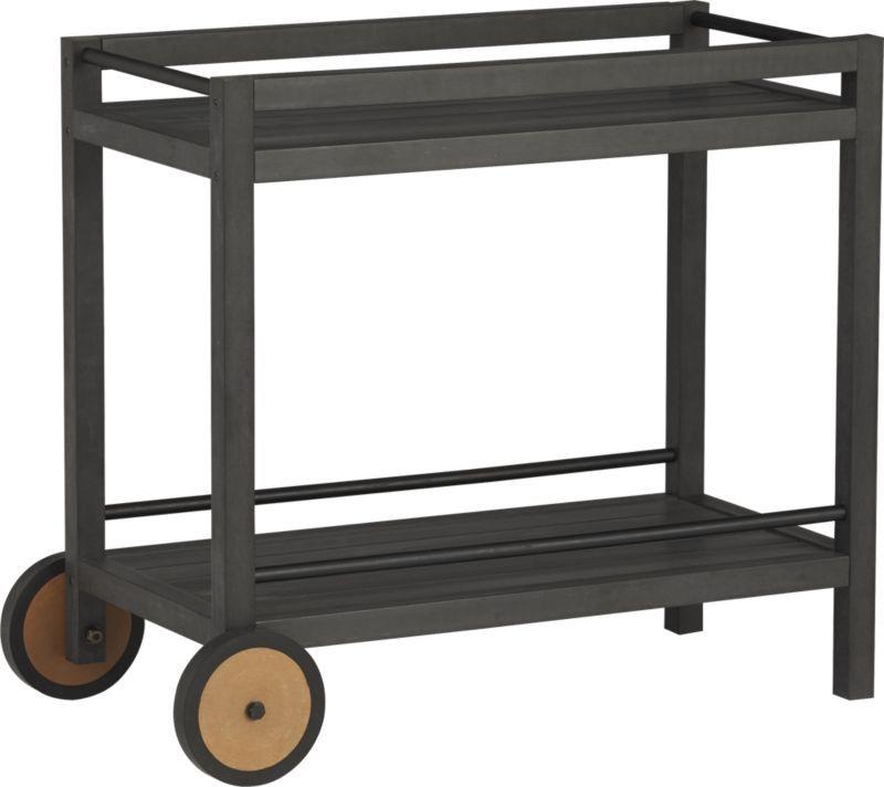 Wheelie Bar Cart Plant Stand In Outdoor Furniture