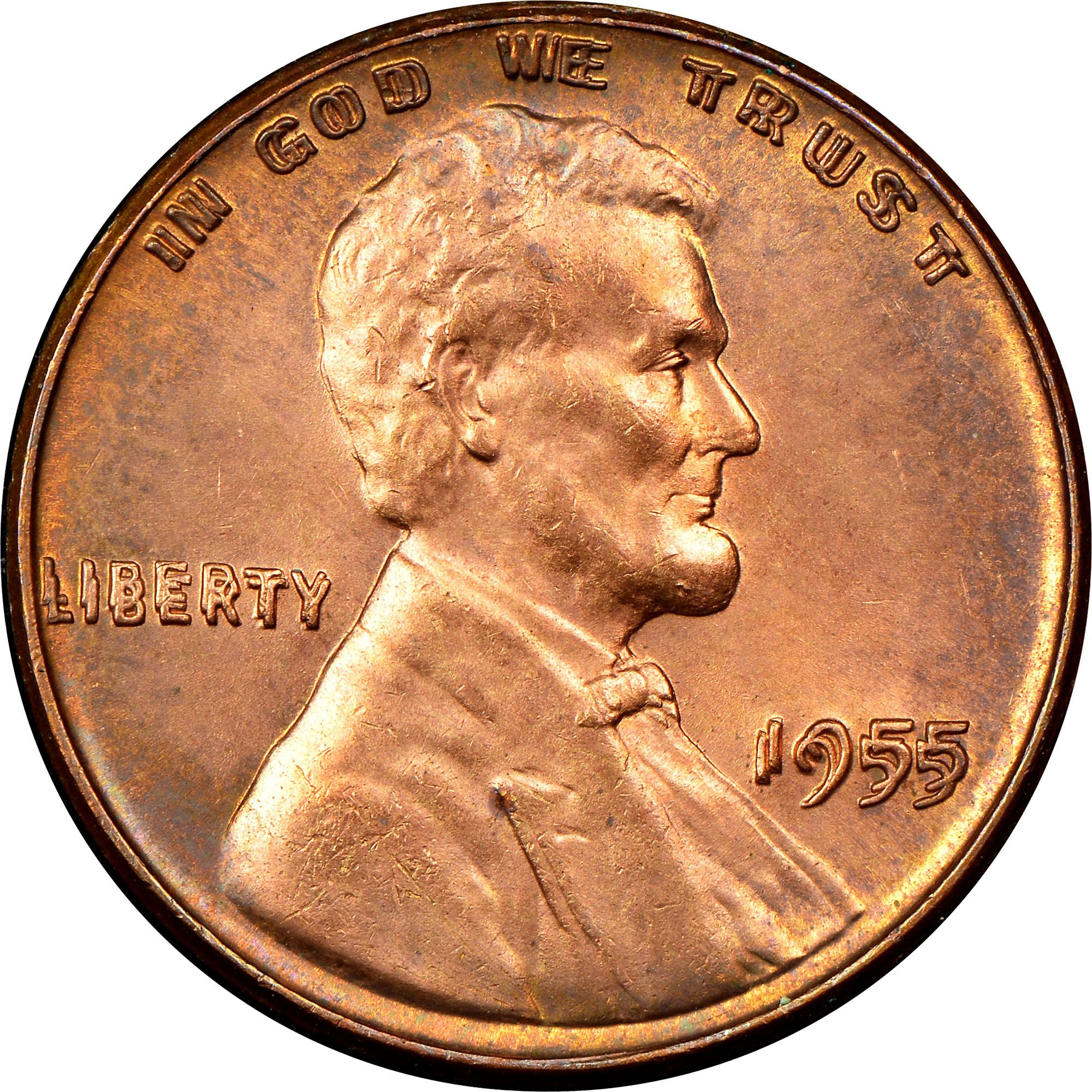 1955 Doubled Die Penny You May Think You Re Experiencing Blurred Vision If You Come Across A Doubled Die Penny Bu Valuable Coins Rare Coins Worth Money Coins