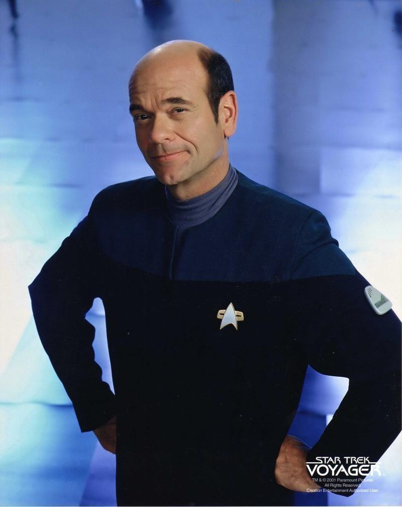 Star Trek: Voyager...Robert Picardo as Emergency Medical ...