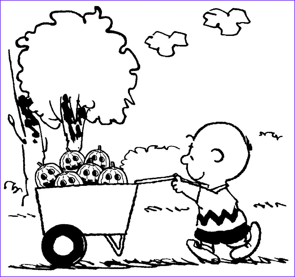 45 Inspirational Photos Of Charlie Brown Coloring Pages in