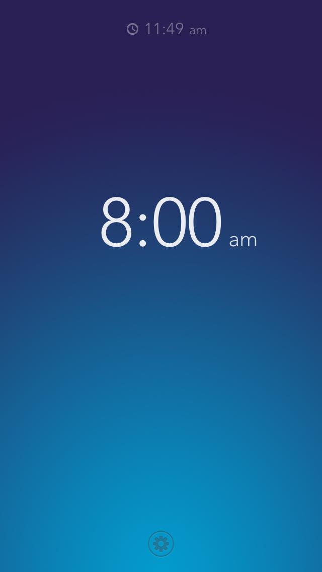 Rise A Beautiful Iphone Alarm Clock Alarm Clock Iphone Alarm App Alarm Clock