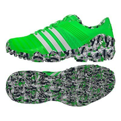 new product 20b9e 821d7 Adidas adiPower II Hockey Shoes - Solar Green