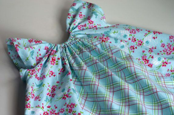 Dress Sewing Pattern: Angel Sleeve Dress and Blouse for Babies and ...