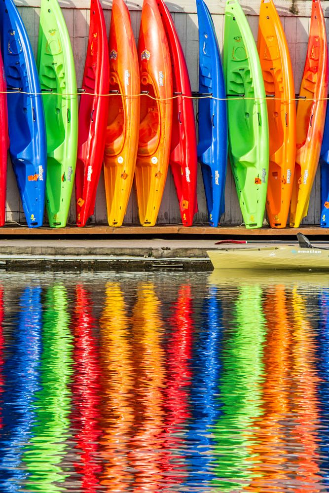 A Spectrum of Kayaks by George Shubin on 500px
