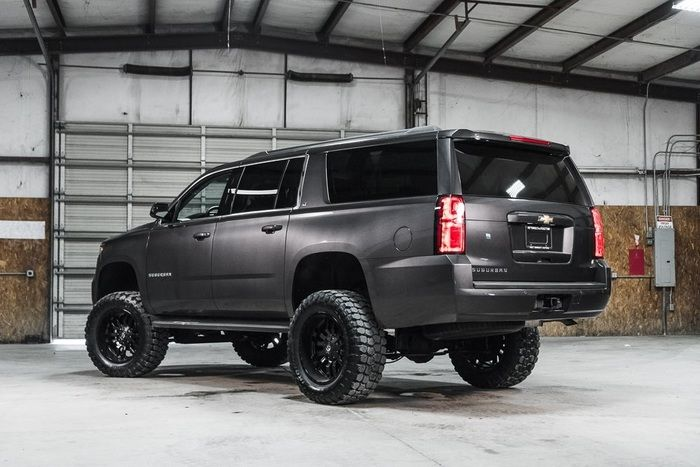 Lifted 2016 Chevrolet Suburban 4x4 Lt 54 488 Chevrolet Suburban