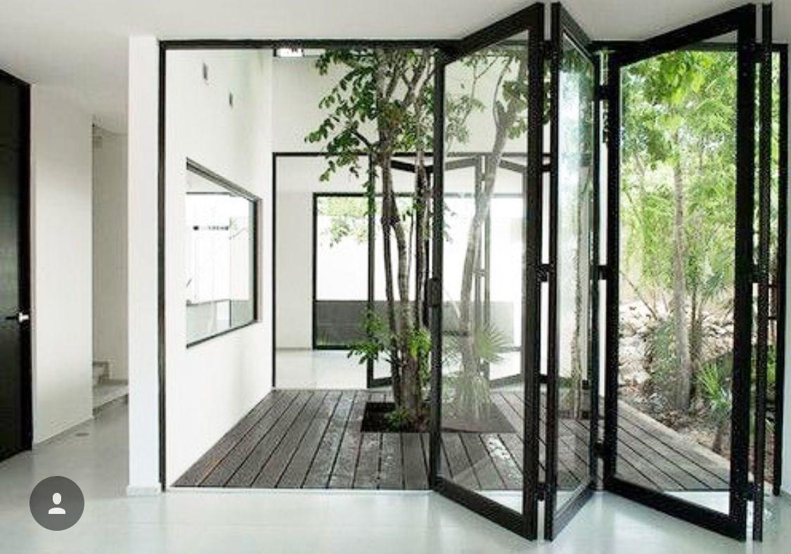S-Concept  Patio interior, House design, Courtyard house