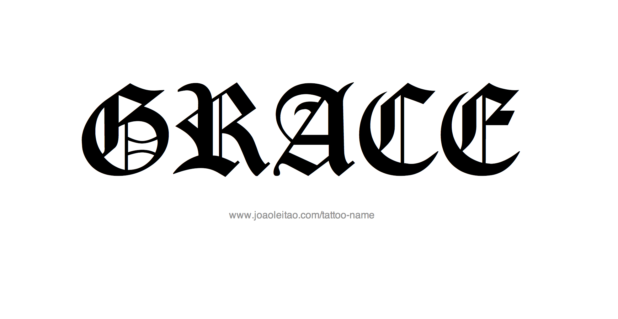 Grace Name Tattoo Designs Name Tattoo Designs Name Tattoo Name Tattoos