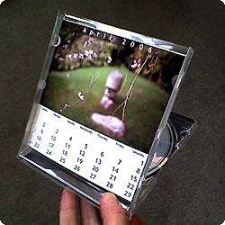 make your own stand up cd jewel case photo calendar photo calendar