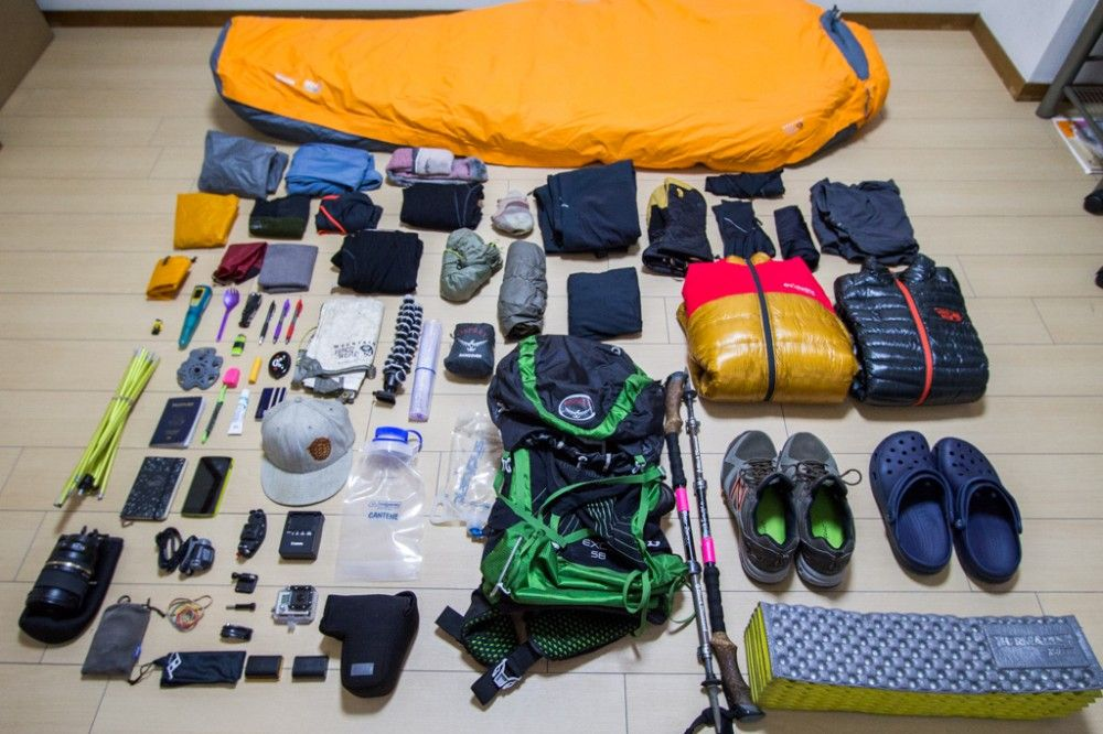 Photo of Everest Base Camp Gear List