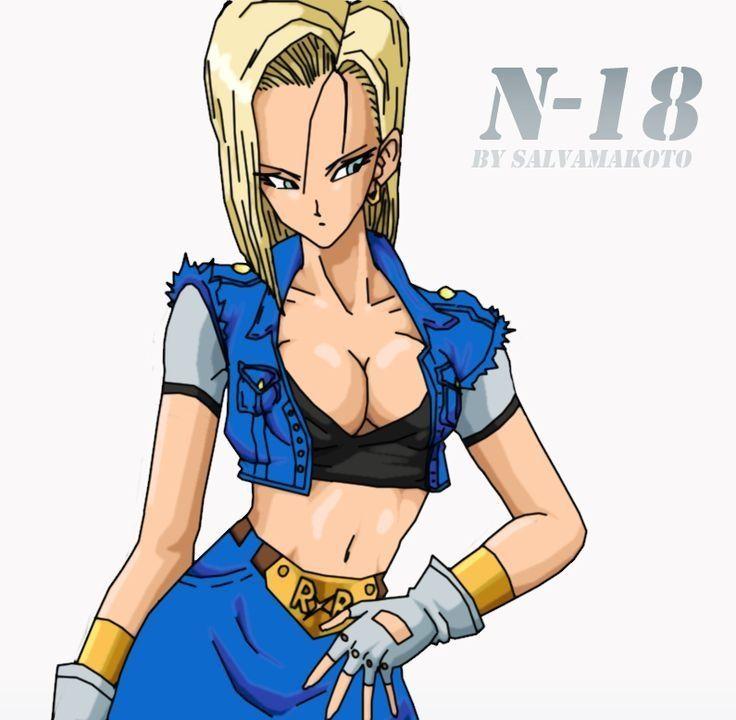 Androide Numero 18 Dragon Ball