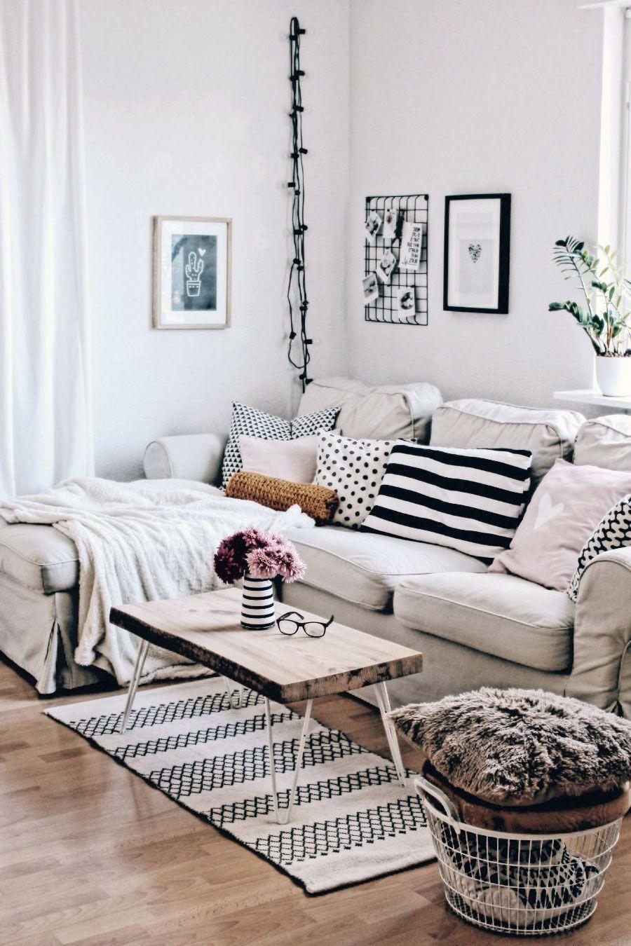 32 Amazing Scandinavian Living Rooms Rug Inspirations Scandinavian Decor Living Room Modern Furniture Living Room Scandinavian Design Living Room