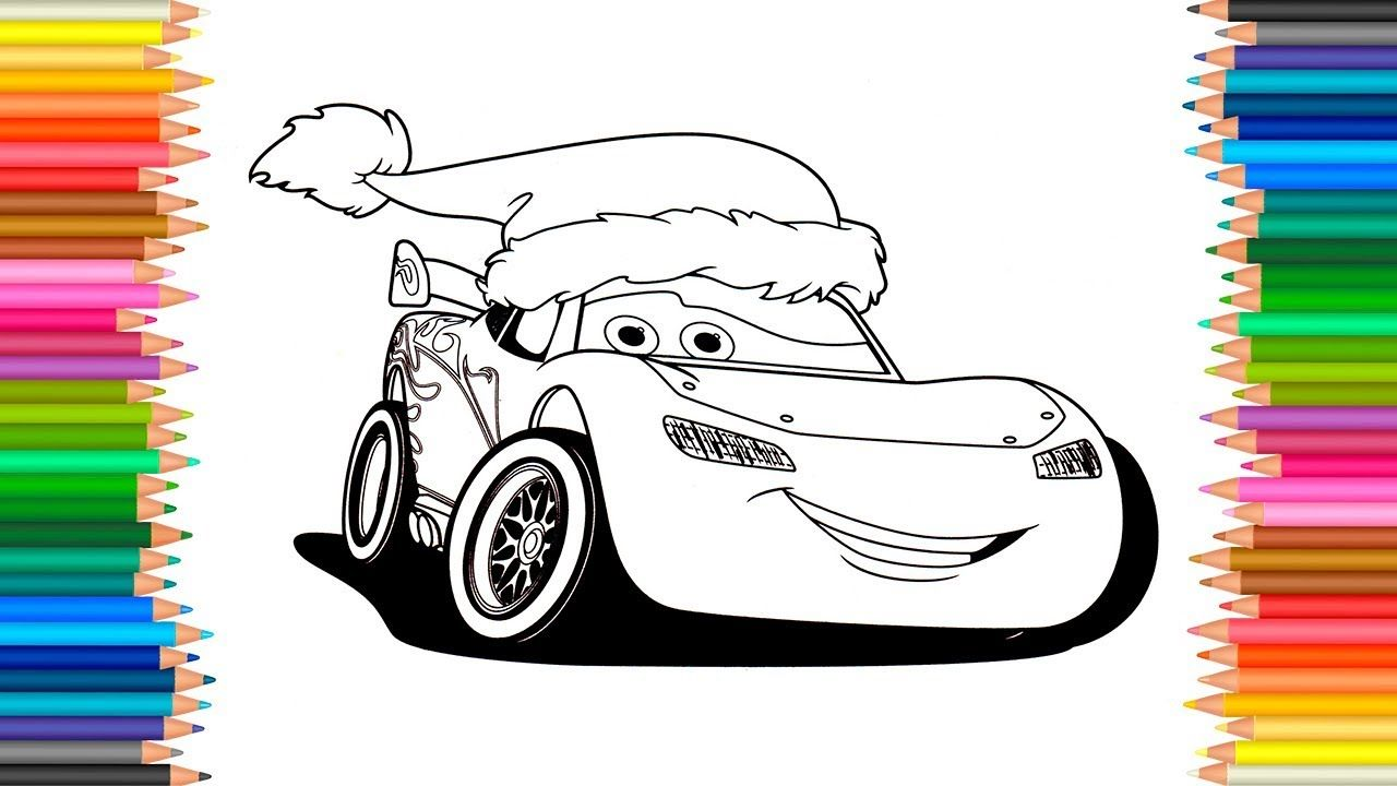 Lightning McQueen Cars 3 Coloring Book Disney Pixar Pages Video