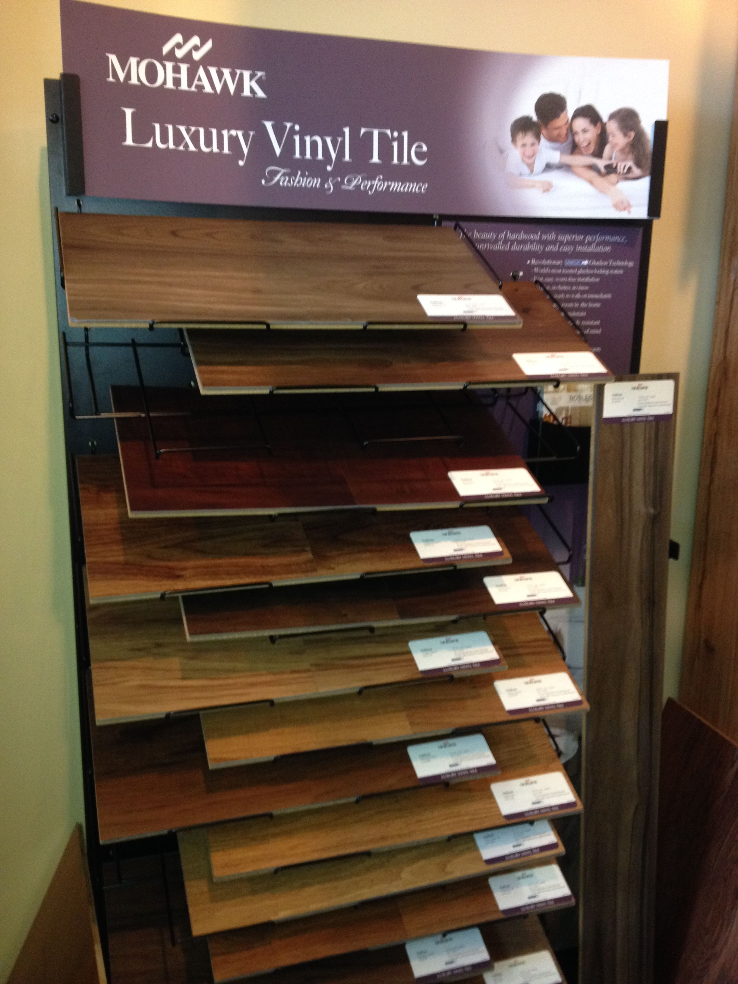 Mohawk Lvt Luxury Vinyl Tile In The Newest And Most Popular Resilient Flooring
