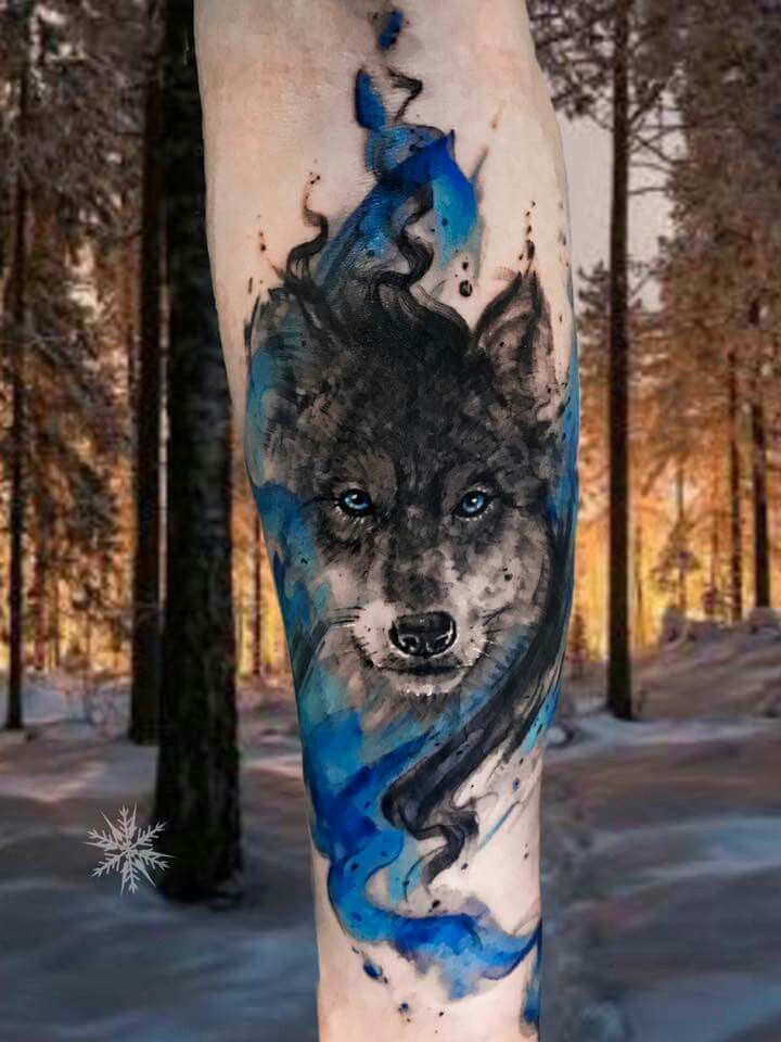 John Needle Thats So Cool Wolf Tatoeage Ideeën