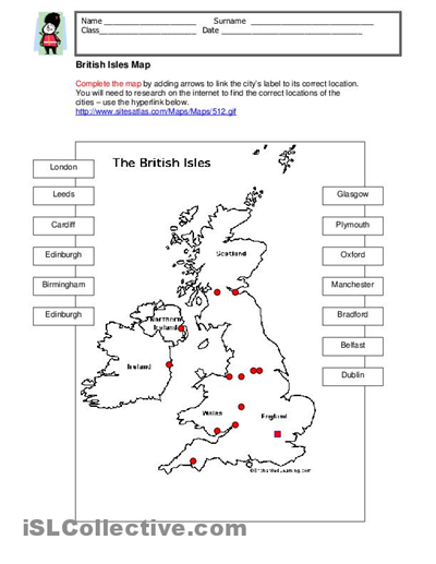 Geography Worksheet 018 - Geography Worksheet