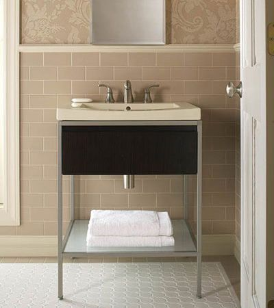 A new vanity will refresh your bathroom by making it appear larger as well as more modern. Here are Freshome\u0027s picks for the best small bathroom vanities. & Fresh Picks: Best Small Bathroom Vanities - http://freshome.com/best ...