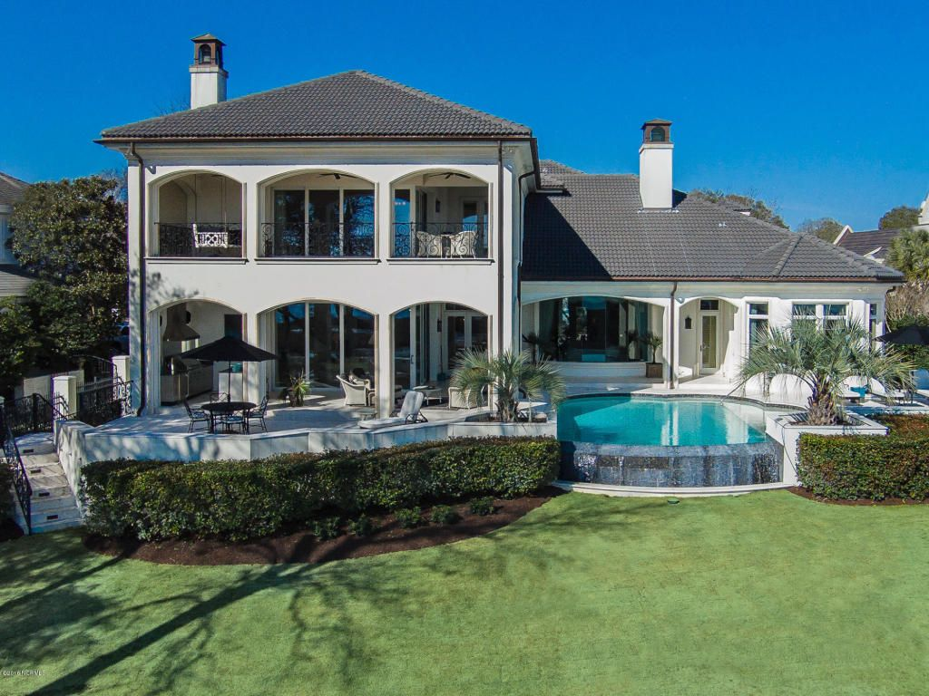 Custom built home in Wilmington NC Waterfront and Coastal Homes