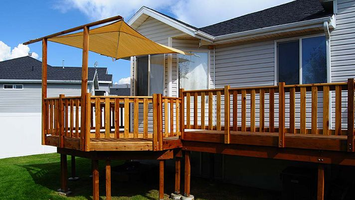 Refresh Your Deck For Under 300 Deck With Pergola