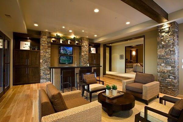 la pierre naturelle pour l 39 int rieur int rieurs cosy et chaleureux maison. Black Bedroom Furniture Sets. Home Design Ideas