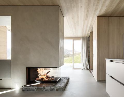 Hanghaus mit naturnahem Innenausbau - [SCHÖNER WOHNEN] | Villa ...