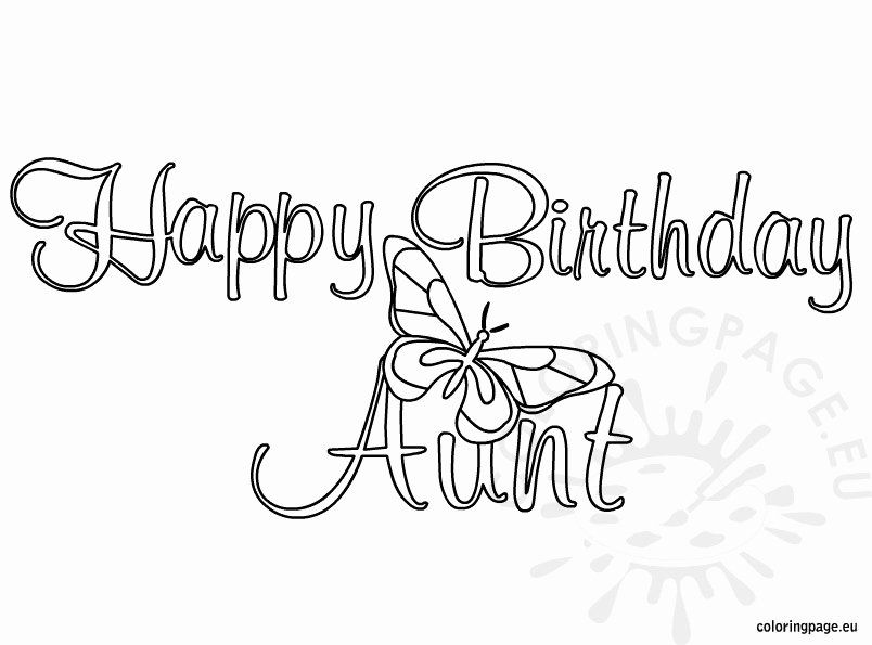 Pin Di Best Birthday Card Coloring Pages