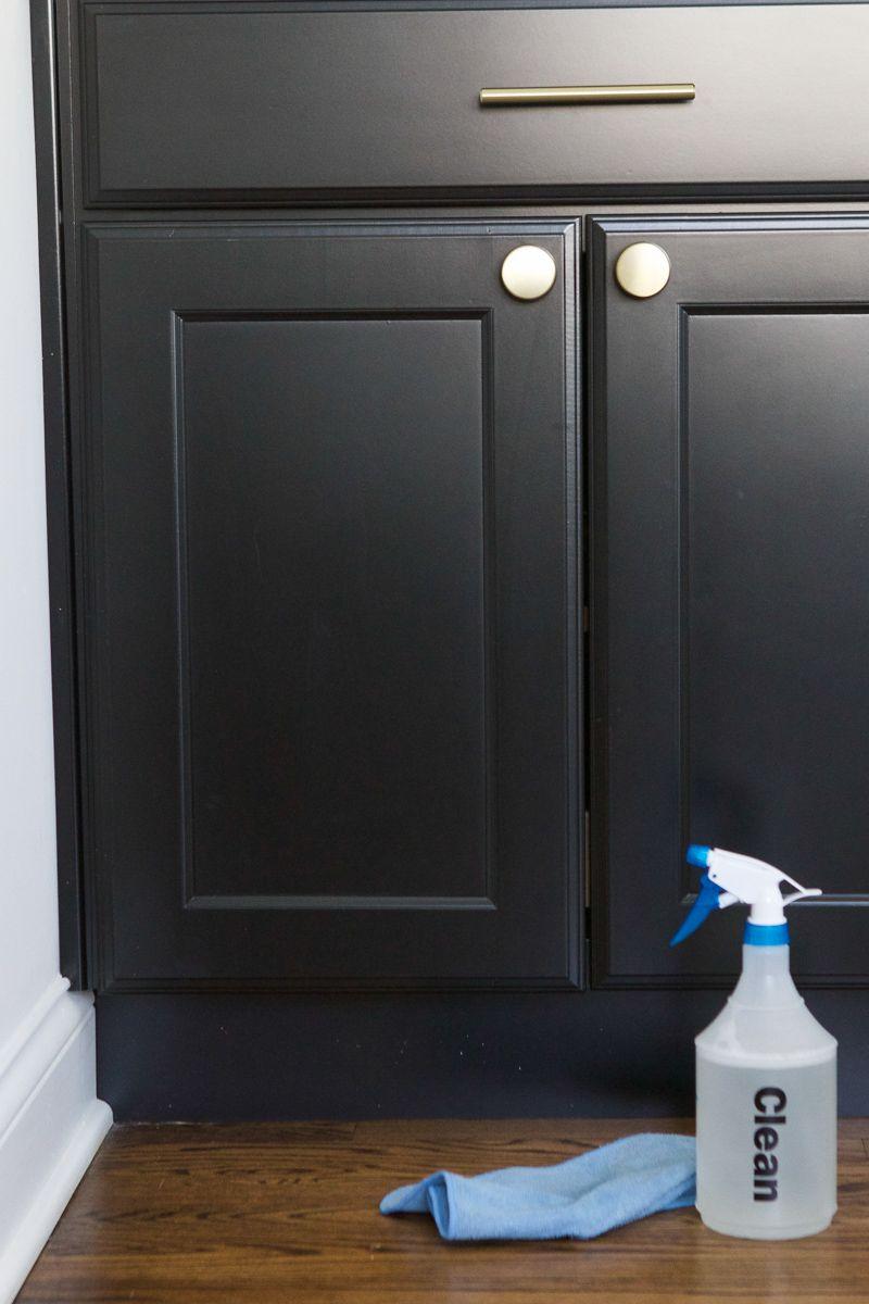 How To Clean Dark Kitchen Cabinets