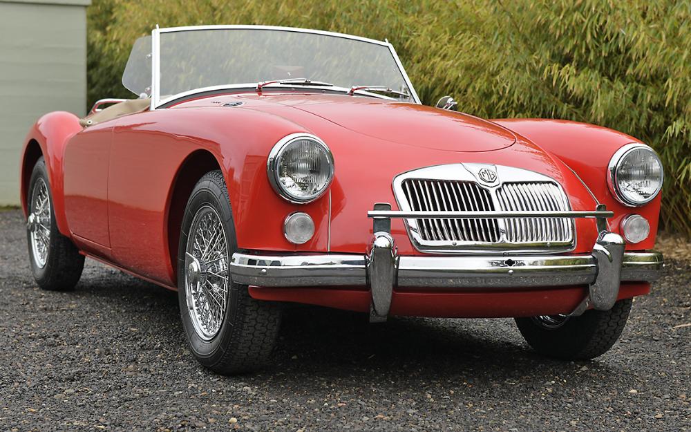 1960 Mg Mga Roadster Engine Rebuild Roadsters Tonneau Cover