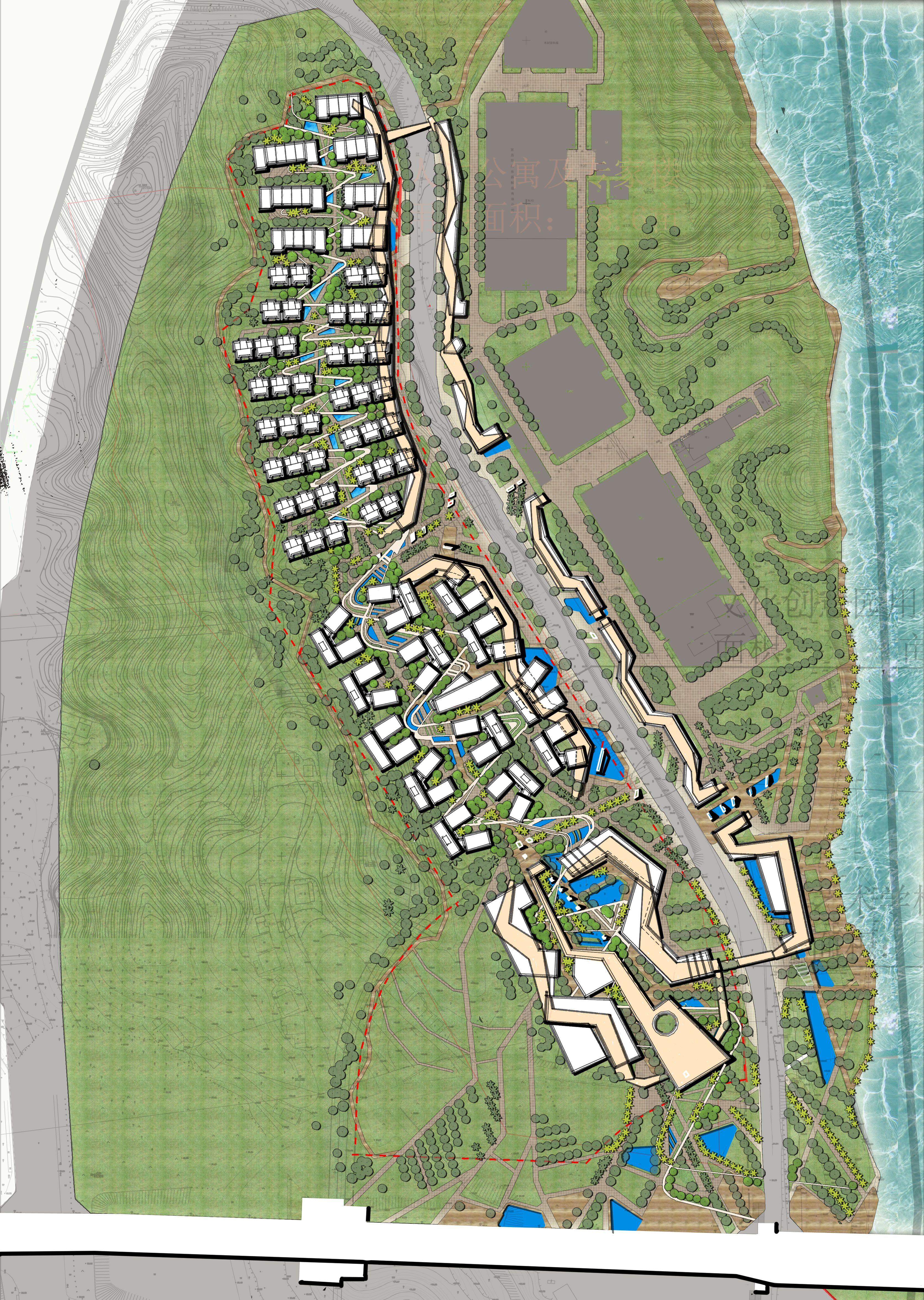 Landscape design, Masterplan, MixedUse Development