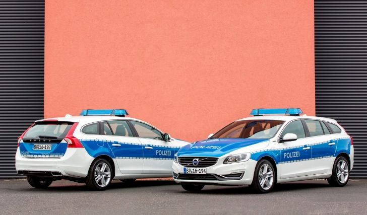 2014 Volvo V60 plug-in-hybrid for german police