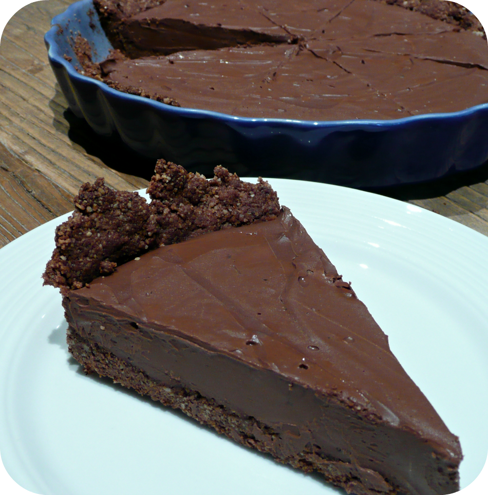 Gateau vegan chocolat marron