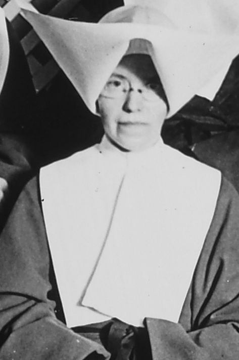 Sister Catherine Coleman, who recorded Holden's death in her diary (used with permission of Daughters of Charity Provincial Archives)