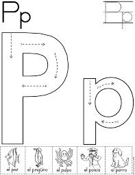 Resultado De Imagen De Lectoescritura Letra P Actividades De Letras Trazos De Letras Fichas De Preescolar