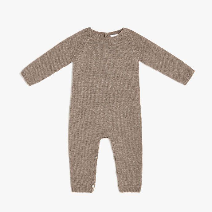 d16350584 Image of the product Cosy knit romper suit | bebi | Romper suit ...