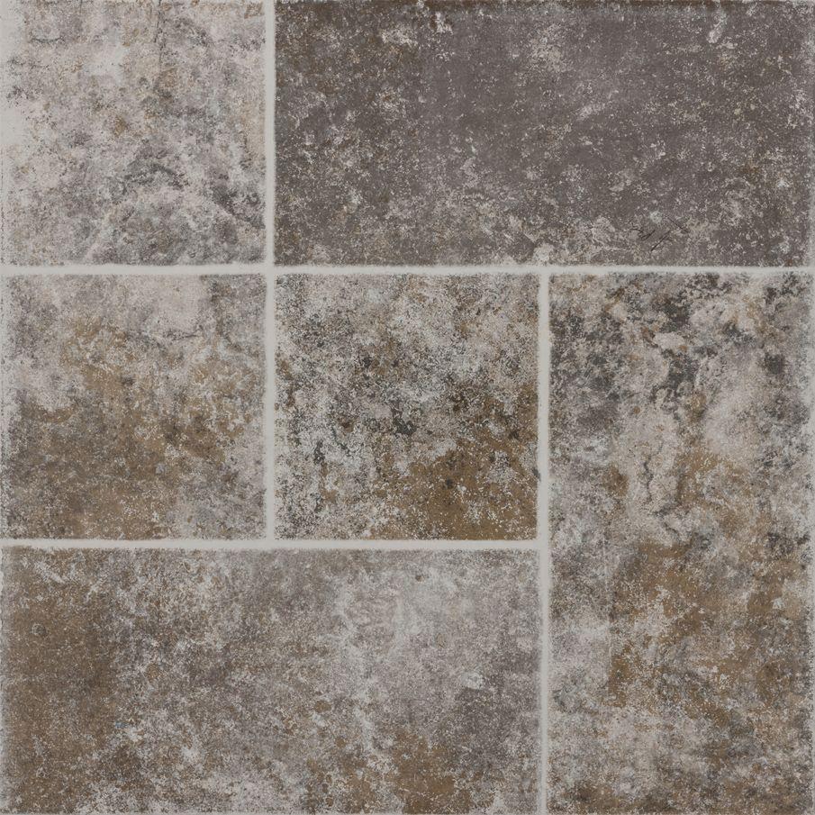 Piso macedonia 45 x 45 cm gris daltile patios pisos y for Pisos para patios interiores