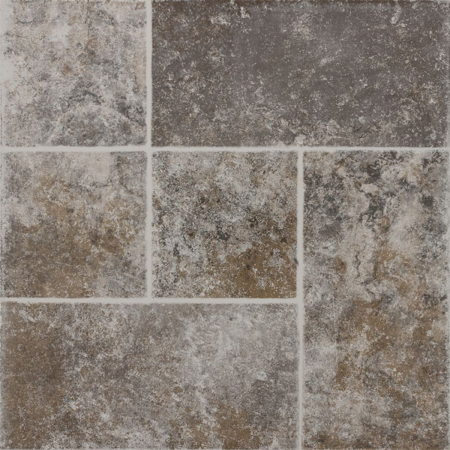Piso macedonia 45 x 45 cm gris daltile patios pisos y for Pisos de jardines exteriores