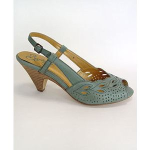 Plasticland Thank You Note Seafoam Pumps By Seychelles