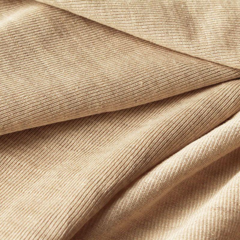 kbA Roh-Leinenjersey, unbehandelt #Färben #Rohware #Linen #Bio-Stoff #Organic Fabric
