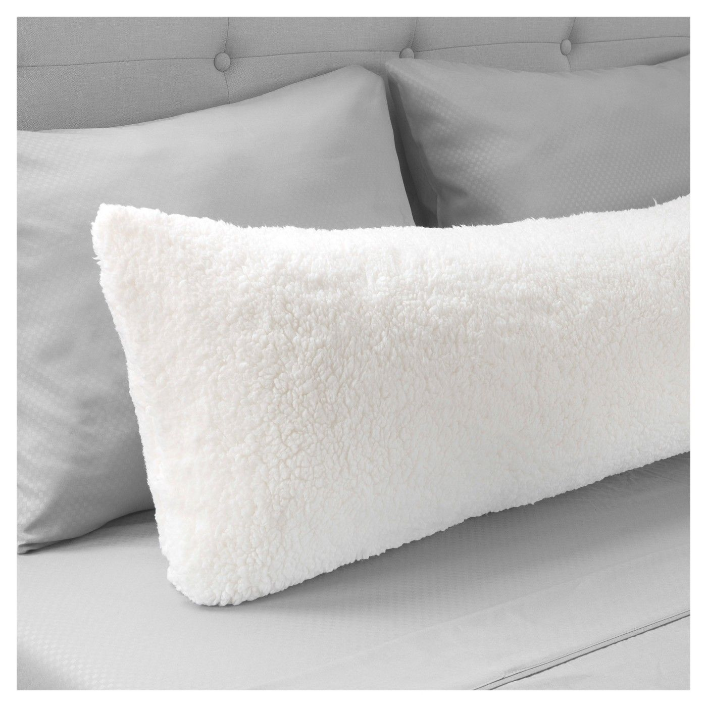 Sherpa Body Pillow Cover.Soft Sherpa Body Pillow Cover Yorkshire Home Image 2 Of