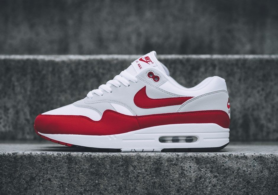 official photos 5795b 9d0ba Nike Air Max 1 OG Aniversary   908375-103 Release Date  September 21, 2017  Price  140 Style Code  908375-103  airmax  gymshoes  runningshoes