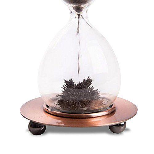 Sablier à sable magnétique objet deco maison design insolite http www