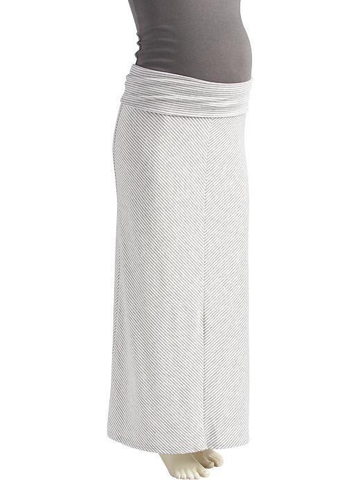 136e9712ea58d Maternity Chevron-Stripe Jersey Maxi Skirts | Stitch Fix meets Dream ...